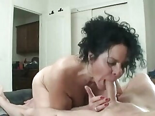 blowjob mature milf at Xnxx