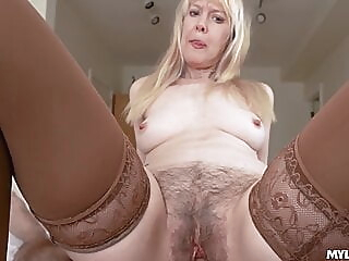 blonde blowjob hairy at XnXX
